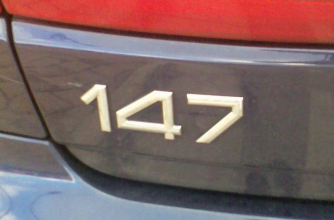 Alfa Romeo registra il nome 147 negli Stati Uniti