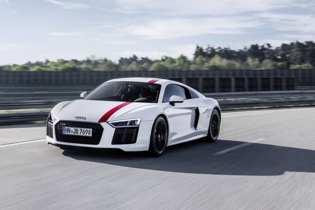 Audi R8 RWS: la sportività estrema a trazione posteriore debutta al Salone di Francoforte 2017