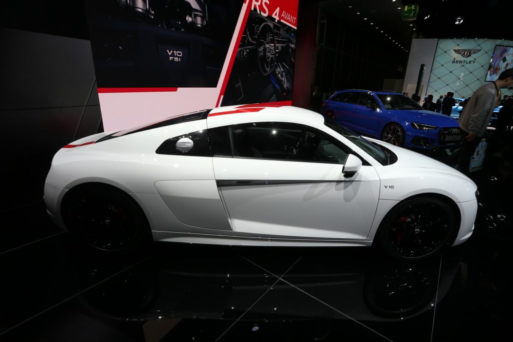 Audi R8 V10 RWS: l'elogio della sportività fa tappa al Salone di Francoforte 2017 [FOTO LIVE]
