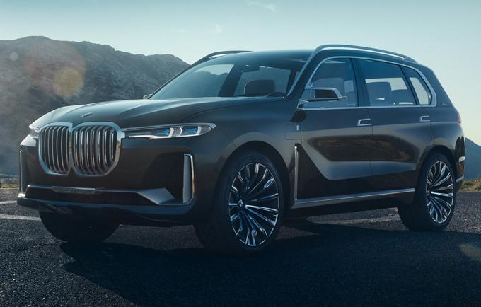 BMW X7 iPerformance Concept: il prototipo del maxi SUV atteso a Francoforte [FOTO LEAKED]