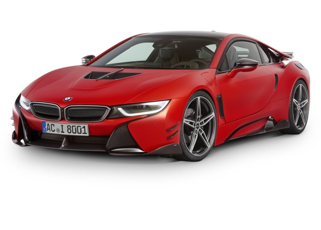 "BMW i8 by AC Schnitzer: giro del Nurbugring in 8′:19,8"" [VIDEO]"