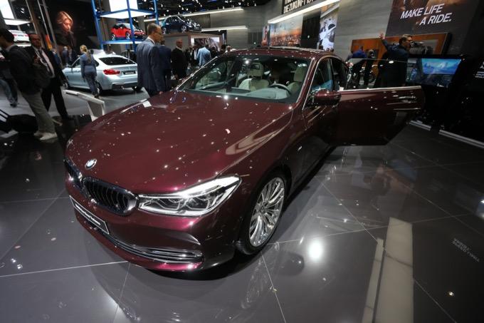 BMW Serie 6 GT: tanto spazio e lusso al Salone di Francoforte 2017 [FOTO e VIDEO LIVE]