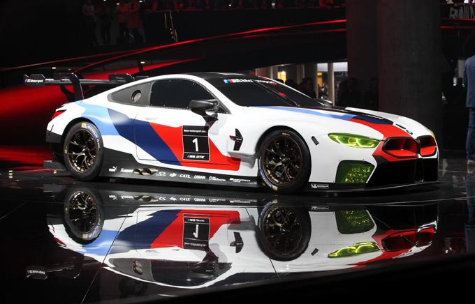 BMW M8 GTE: la nuova ammiraglia GT al Salone di Francoforte [FOTO LIVE]