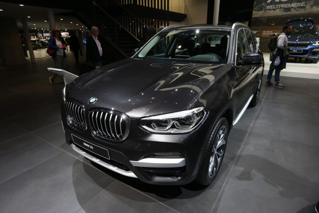 Nuova BMW X3 - Salone di Francoforte 2017