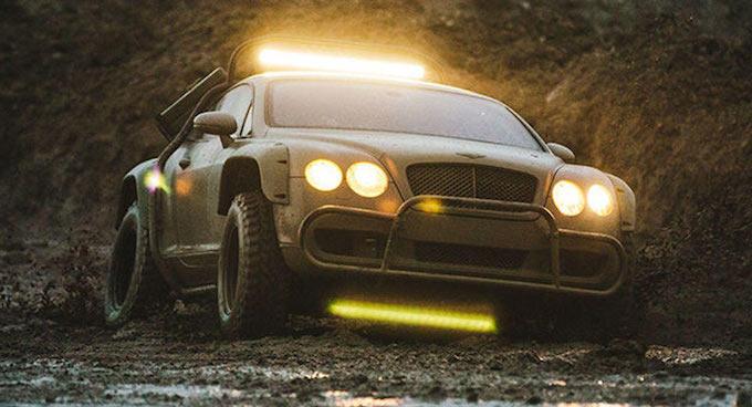 Bentley Continental GT Rally Spec