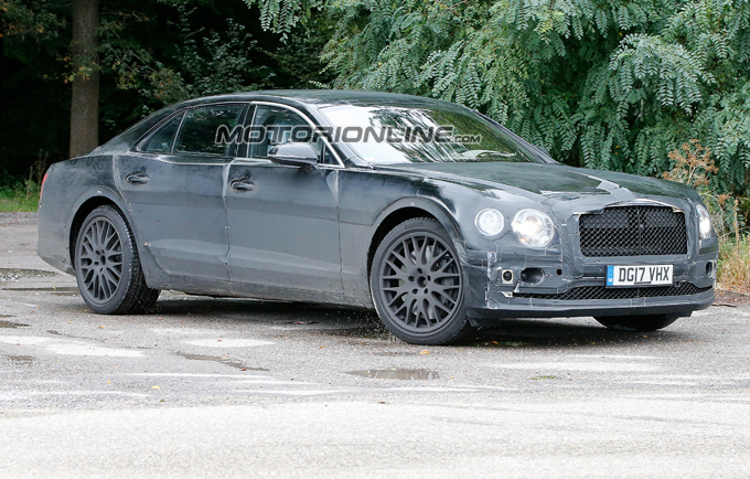 Bentley Flying Spur 2019: la nuova generazione è su strada [FOTO SPIA]