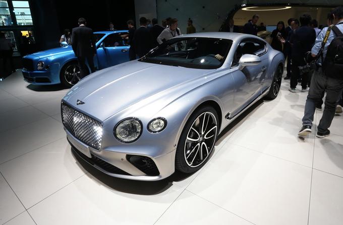 Bentley Continental GT - Salone di Francoforte 2017