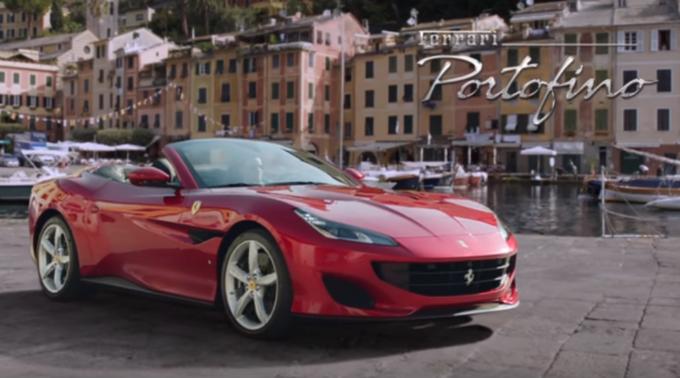 Ferrari Portofino: il primo spot promozionale ci regala l'anima della nuova supercar [VIDEO]