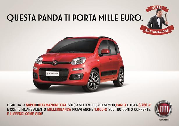 """Fiat e Lancia: al via la nuova formula """"MILLEINBANCA"""""""