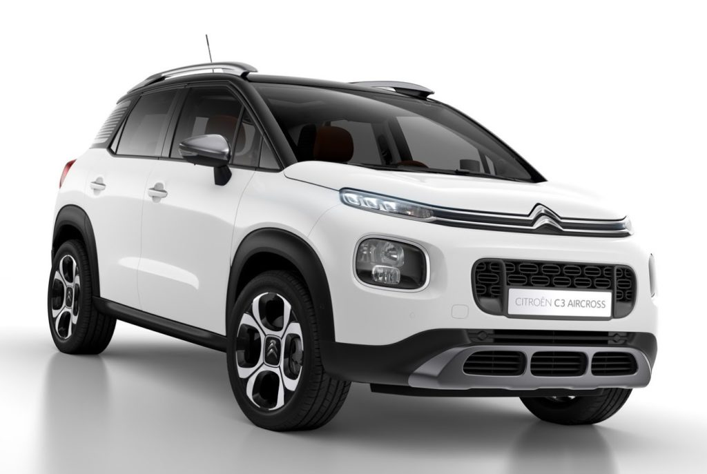 citroen c3 aircross informazioni e prezzi per il mercato italiano si parte da euro. Black Bedroom Furniture Sets. Home Design Ideas