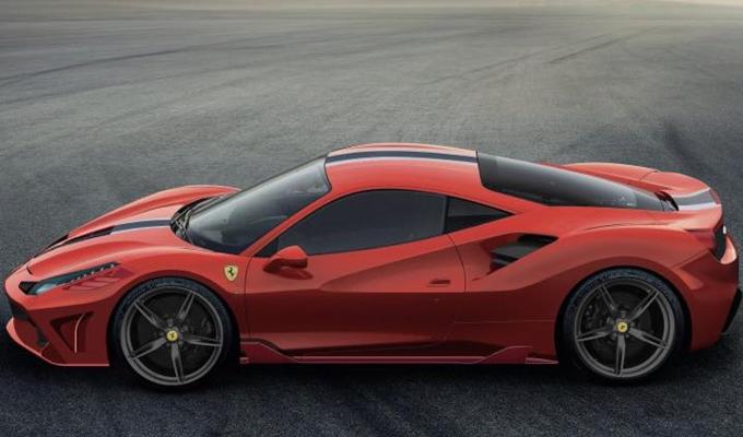 Ferrari 488 GTO: potrebbe essere ibrida? [RENDERING E VIDEO SPIA]