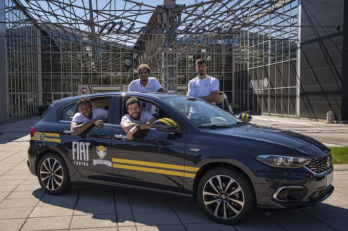 """Fiat e Tipo S-Design segnano """"da tre"""" con Auxilium Pallacanestro"""