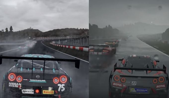 Forza Motorsport 7 vs Project Cars 2: video confronto tra i due racing game