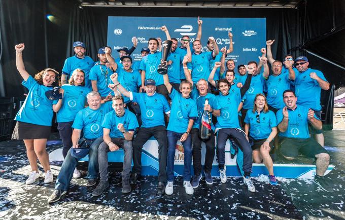 Formula E, Renault e.dams: festeggiato il terzo titolo consecutivo