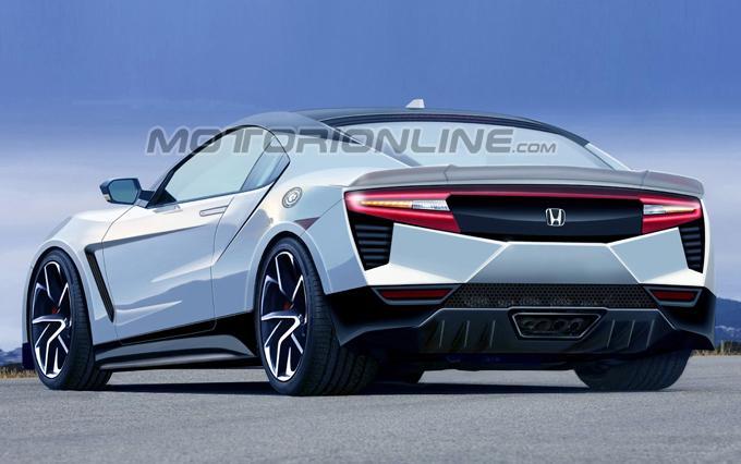 Honda S2000: proposta stilistica moderna [RENDERING]