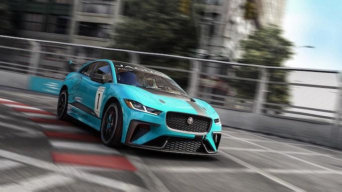 Jaguar I-Pace eTrophy: A Francoforte nasce la racing elettrica
