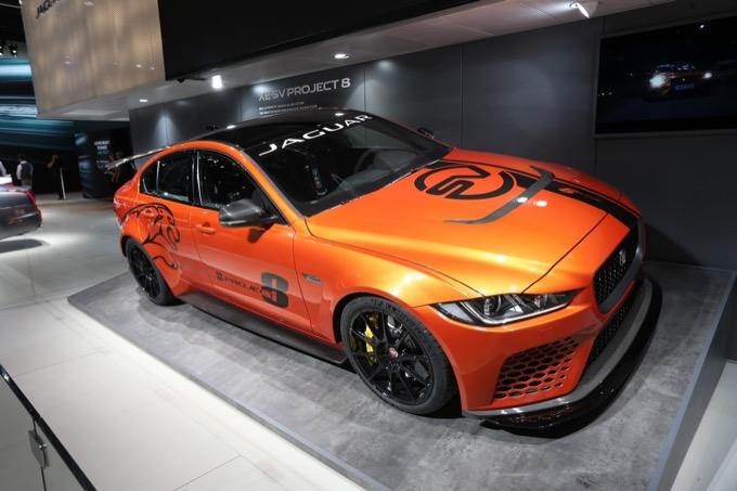 Jaguar Project8 - Salone di Francoforte 2017