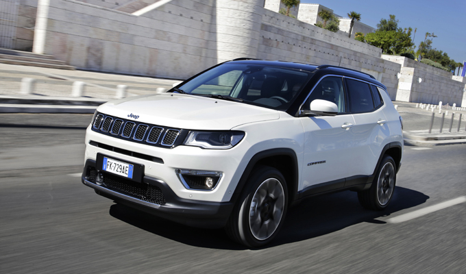 Nuova Jeep Compass: cinque stelle ai test EuroNCAP per il SUV compatto [VIDEO]