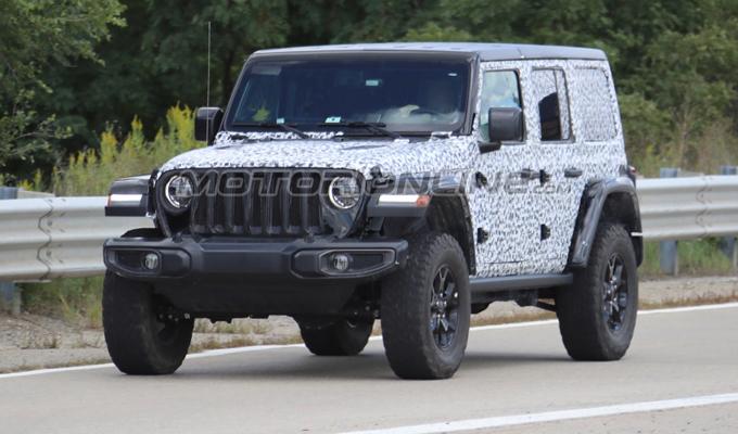 Jeep Wrangler 2018: nuove immagini dedicate allo sviluppo [VIDEO SPIA]