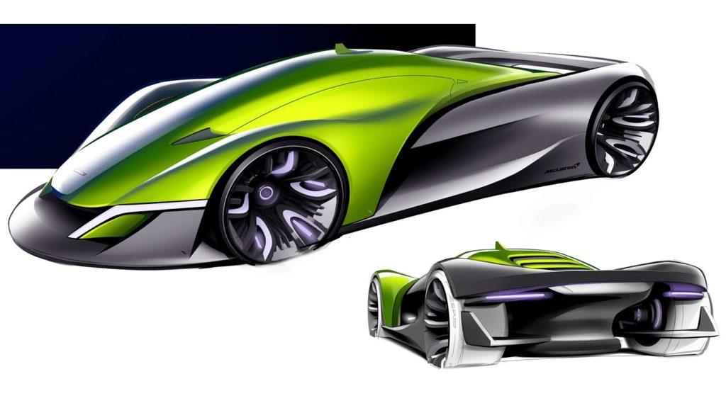 McLaren, un'idea stilistica sulla futura hypercar con l'Halo [RENDERING]