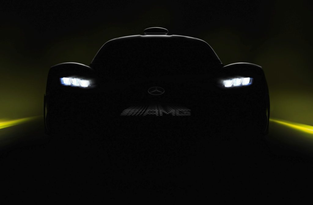 Mercedes-AMG Project One, è ufficiale: debutta al Salone di Francoforte 2017 [TEASER]