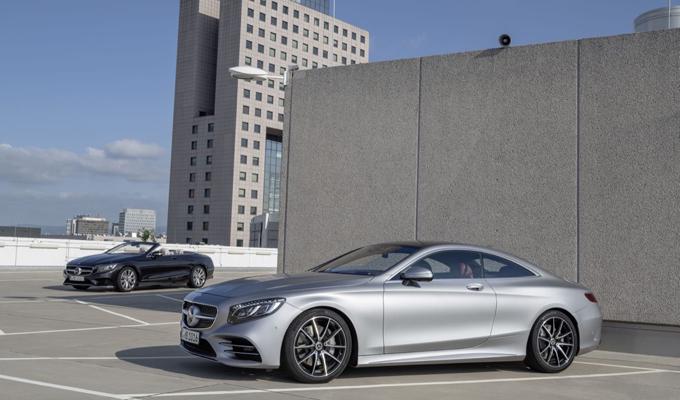 Mercedes-Benz Classe S Coupe e Cabriolet 2018