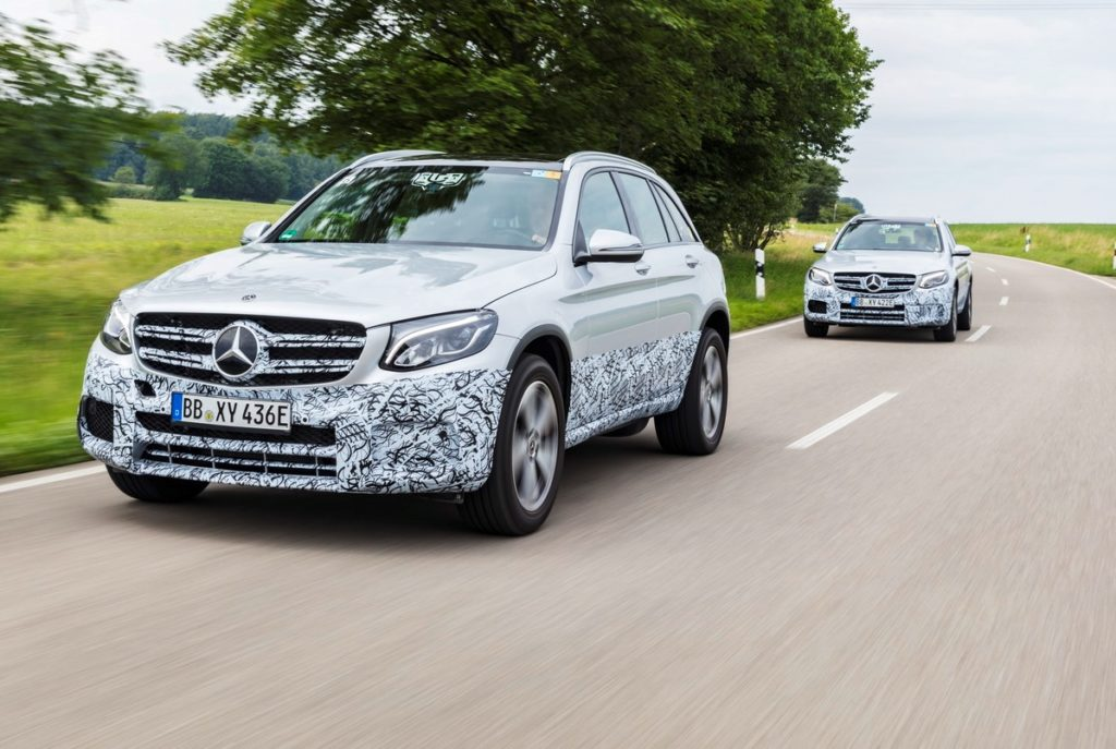 Mercedes GLC F-Cell - prototipo