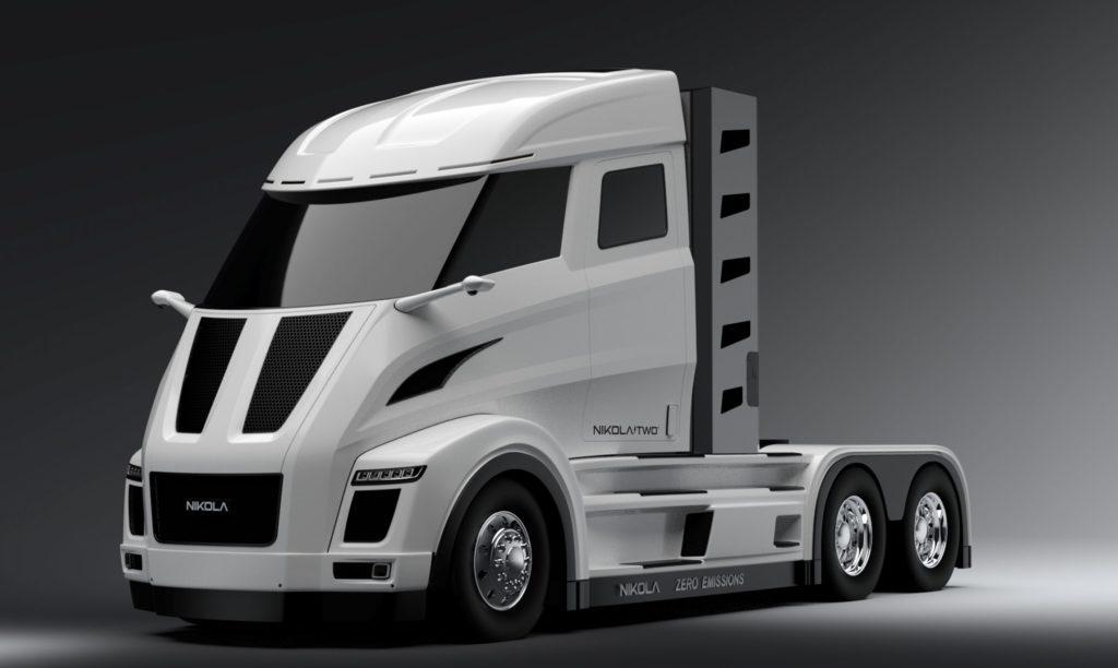 Super camion elettrico: autonomia 1000 km, ricarica in 15 minuti