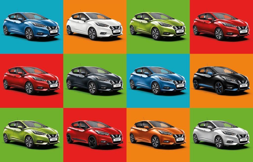 """Nissan: """"L'86% degli automobilisti guida un'auto di un colore che non li rappresenta"""""""