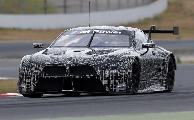 BMW M8 GTE: debutterà pubblicamente al Salone di Francoforte