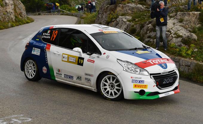 CIR Junior, Peugeot: Pollara vince il 2 RM sulla 208 R2
