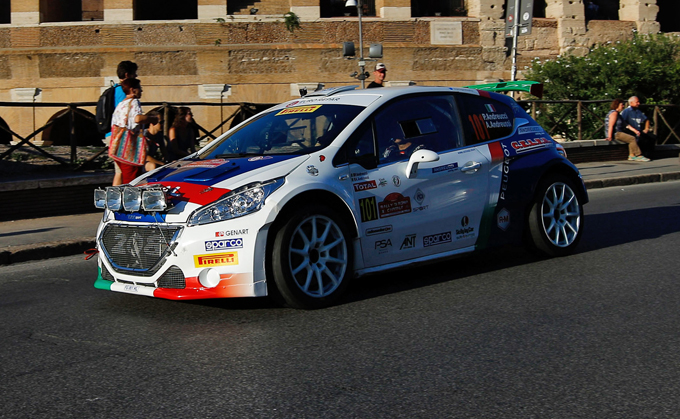 Rally Roma Capitale, Peugeot: limitati i danni col terzo posto di Andreucci [VIDEO]