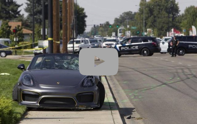 Porsche Boxster: grave incidente al Cars and Coffee in Idaho [VIDEO]