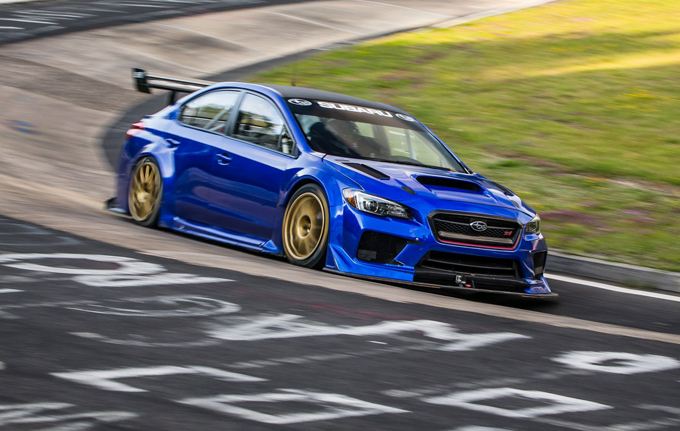 Subaru WRX STI Type RA NBR Special: l'on board camera del giro record al Nurburgring [VIDEO]