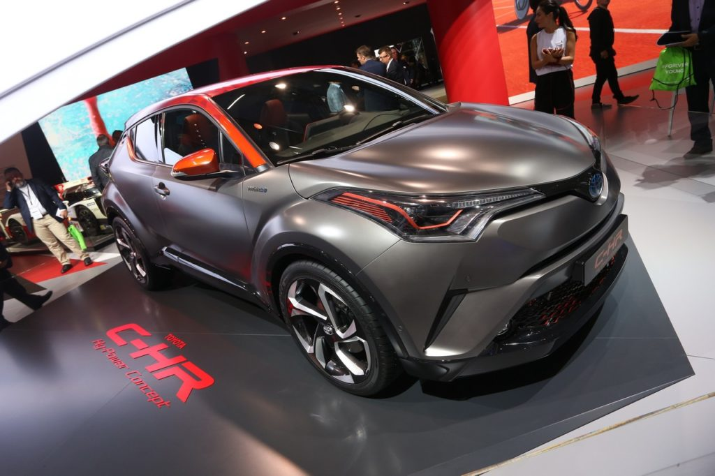 Toyota C-HR Hy-Power Concept: eccentrica potenza ibrida al Salone di Francoforte 2017 [FOTO e VIDEO LIVE]
