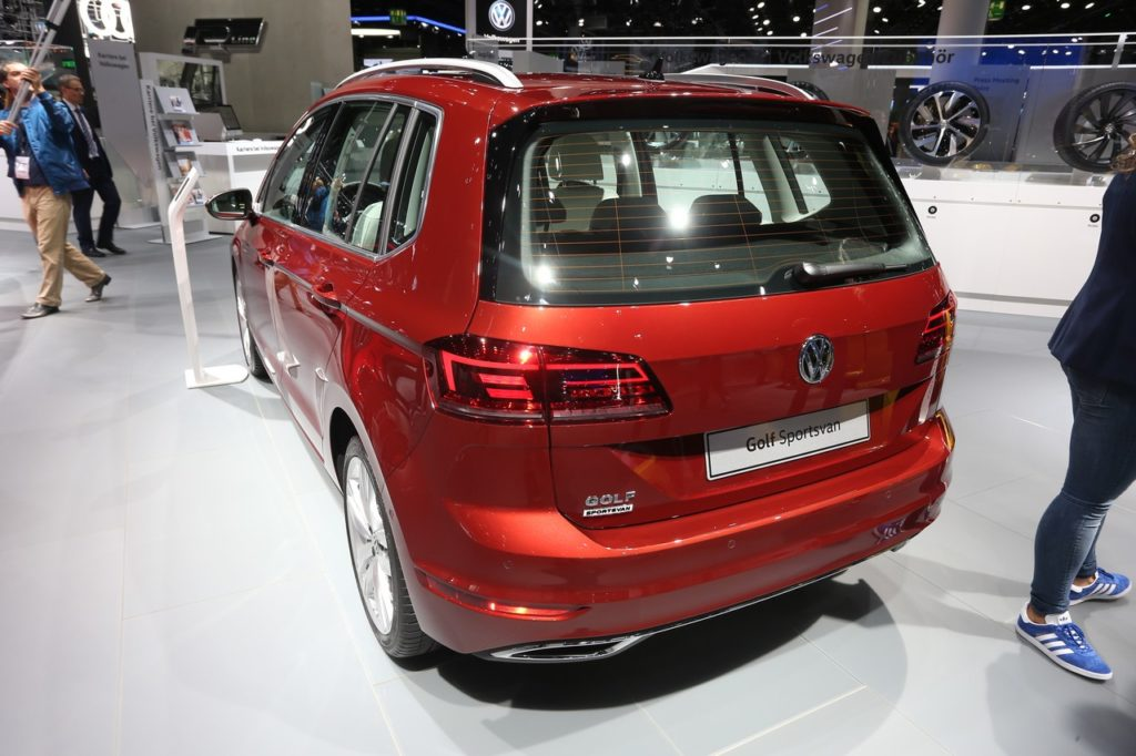 Volkswagen Golf Sportsvan Il My 2018 Debutta Al Salone Di