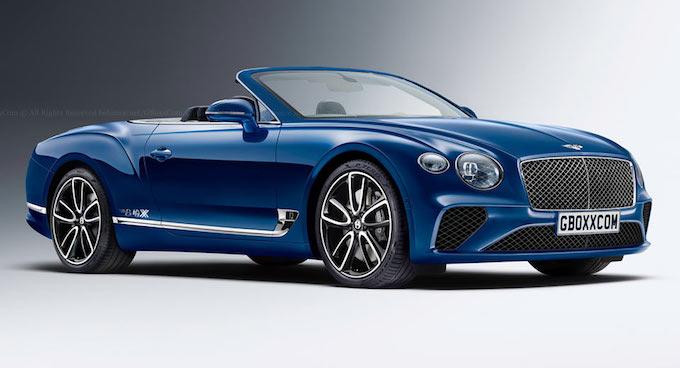 Bentley Continental GT: la Cabriolet 2018 sarà così [RENDERING]