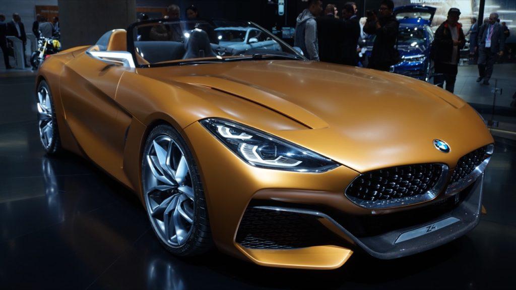 BMW Z4 Concept: uno squalo dagli occhi dolci