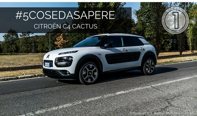 Citroen C4 Cactus: look da prototipo [#5COSEDASAPERE – EPISODIO 1, ESTERNI]