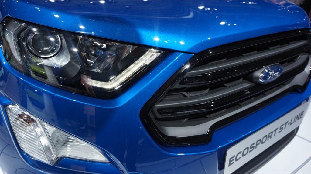 Ford EcoSport: al Salone di Francoforte 2017 con la trazione integrale [FOTO LIVE]