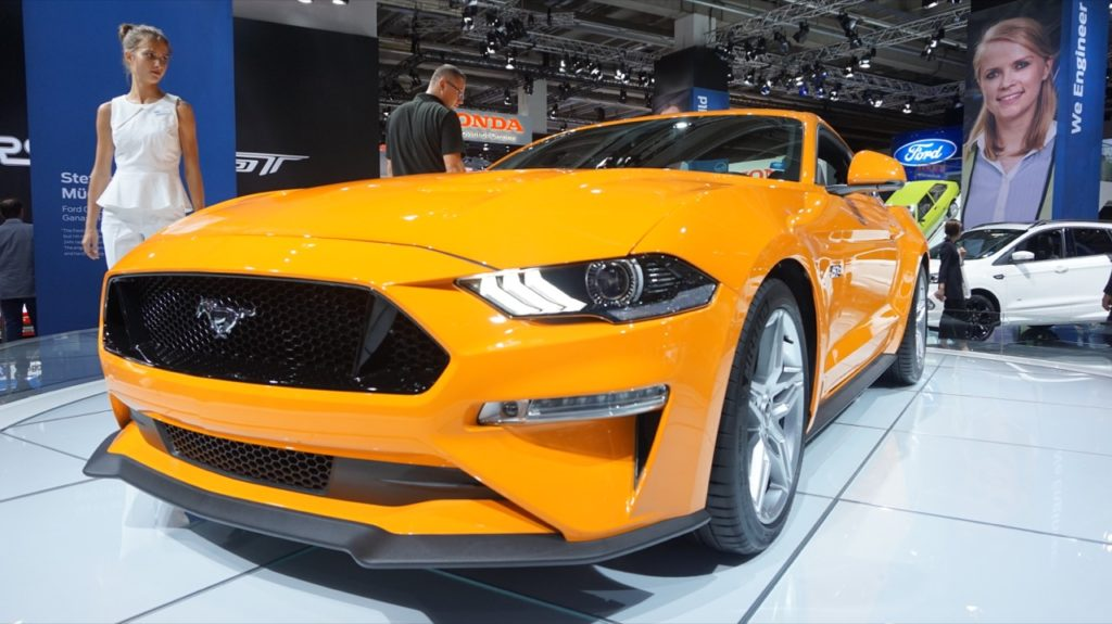 Ford Mustang MY 2018: anteprima europea al Salone di Francoforte [FOTO LIVE]