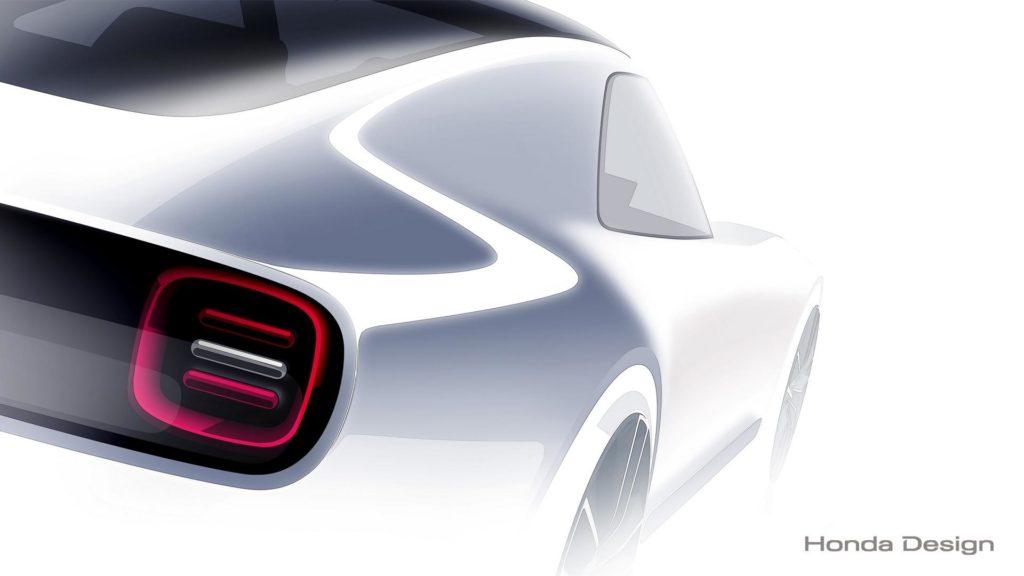 Honda Sports EV Concept: coupé sportiva compatta al Salone di Tokyo 2017 [TEASER]