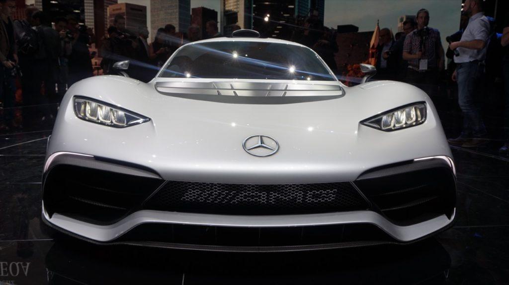 Mercedes-AMG Project One: la Stella illumina il Salone di Francoforte 2017 [FOTO LIVE]