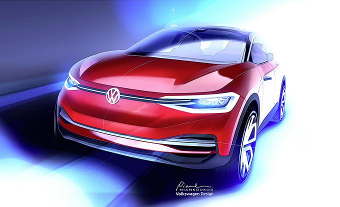 Volkswagen I.D. Crozz Concept: nuova variante al Salone di Francoforte [VIDEO]