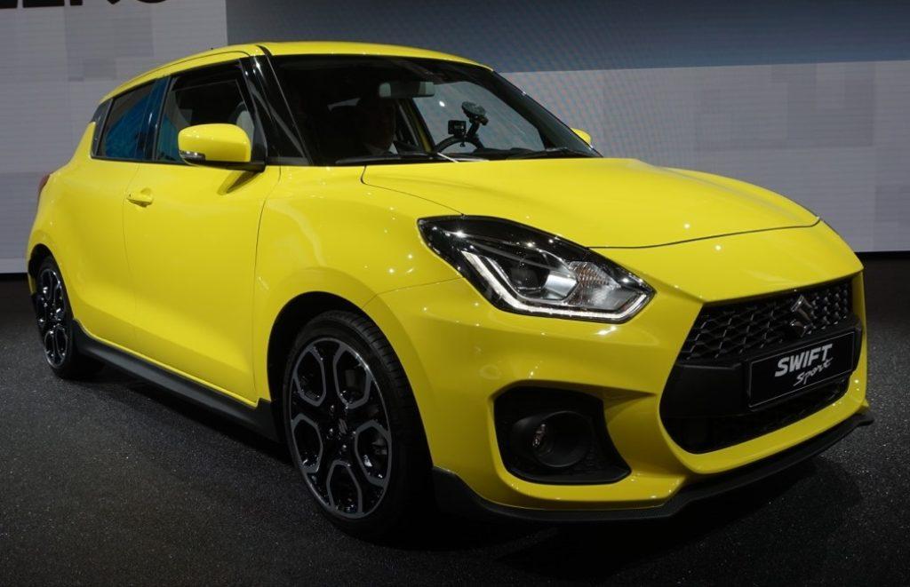 Nuova Suzuki Swift Sport: a Francoforte più leggera, veloce e col turbo [FOTO e VIDEO LIVE]