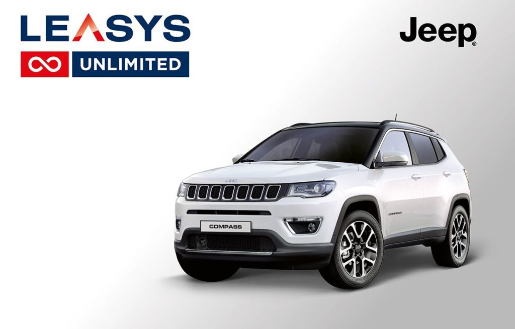 Jeep Compass: da oggi si può comprare con Leasys Unlimited