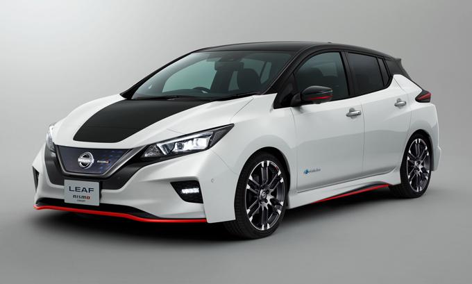 Nissan Leaf Nismo Concept: primo sguardo all'elettrica prestante [FOTO]