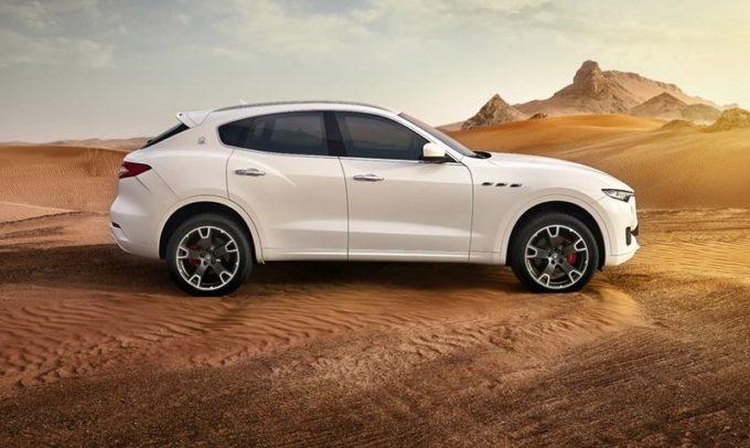 Maserati Levante: l'anima più off road viene fuori nel deserto [VIDEO]