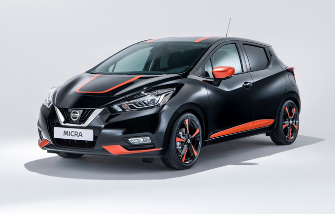 Nissan Micra: la compatta sfoggia l'abito per Halloween