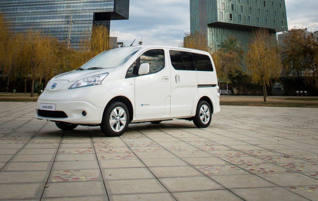 Nuovo Nissane-NV200Van: ora l'autonomia sale a280km
